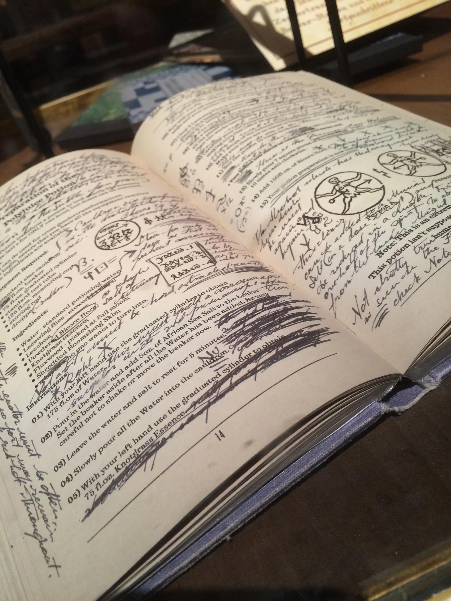zaubertränkebuch halbblutprinz