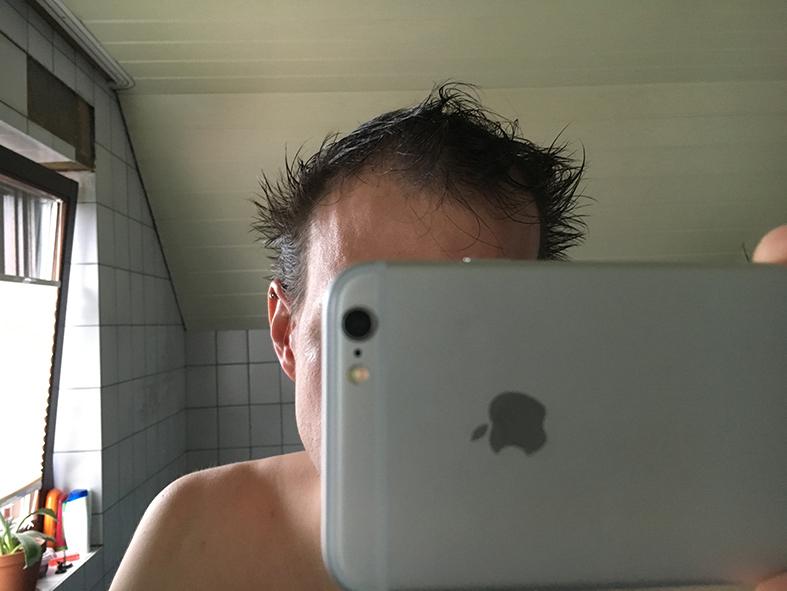haare nass